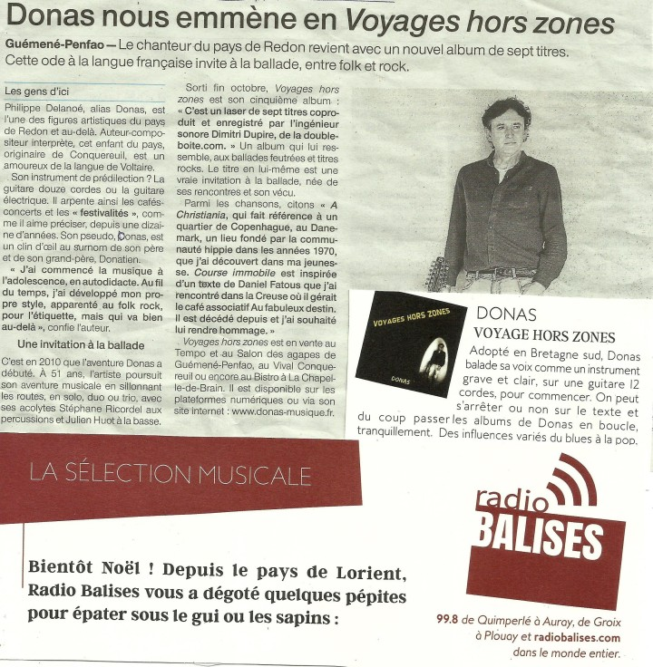 Donas 29 000 lieux Ouest France
